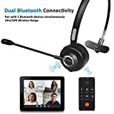 Bluetooth Headset with Noise Canceling, Knofarm