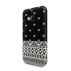 Aztec Tribal Mosaic Indie Rad Boho Hipster Pattern Hard Plastic Htc One M8 Phone Case Cover