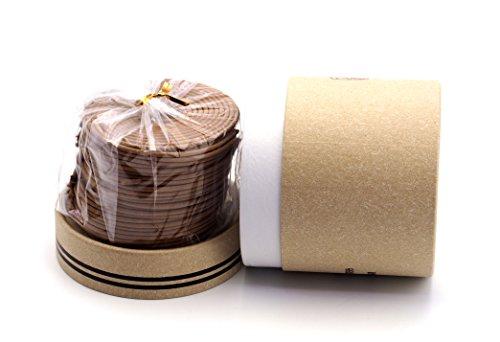 Creationtop 48 pcs Incense coils Sandalwood, Lavender, Jasmine (Sandal Incense)