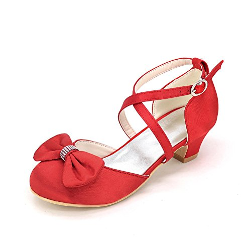 Summer Fall Mariage Walking Pour Shoes Filles Robe Party yc De Comfort Soirée Red Glitter amp; L Chaussures Girl FBzvq