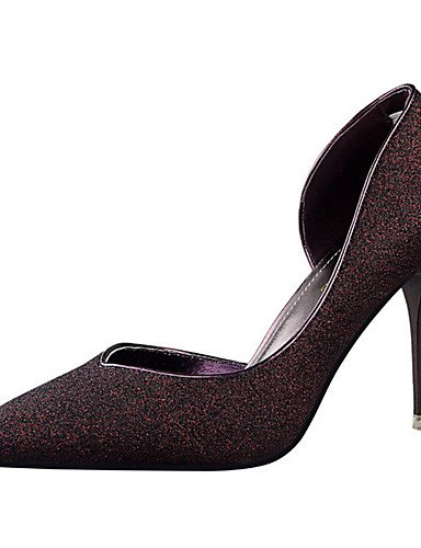 us8 golden Noche Plata y eu39 us5 eu39 Tacones GGX Fiesta Confort black golden Stiletto Bermellón Mujer cn39 eu35 Puntiagudos uk3 Oro Tacón Negro us8 uk6 Tacones cn34 Vestido cn39 Azul uk6 Tela x6zg6Bv