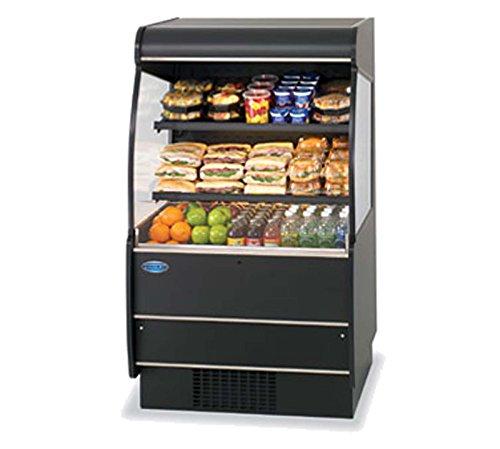 Serve Merchandiser - Federal Industries RSSM-560SC BLK 59-in Self-Serve Refrigerated Display Merchandiser, Black, Each