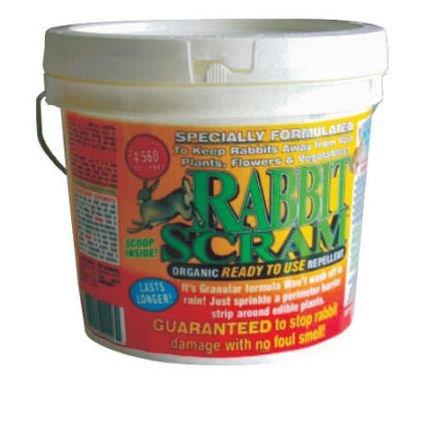 Repellent Scram Rabbit (Enviro 11006 11006-Ipo Rabbit Scram Repellent Granular White Pail)