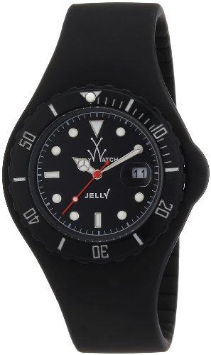 Toy Watch Jelly JY02BK 44mm Rubber Case Black Rubber Mineral Women's Watch