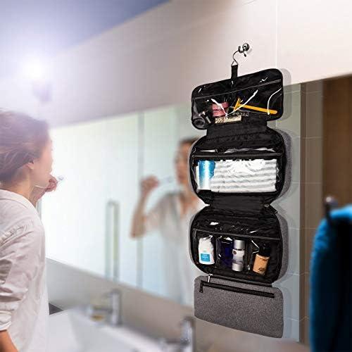 Luusama Men's Essentials Toiletry Travel Bag | Mens toiletry bag | Hanging toiletry bag for men