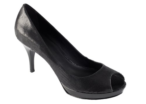 Zofie Women's LUCIA Leather Pump Black Raindrop Suede discount codes shopping online free shipping Manchester HaOIfxUfni