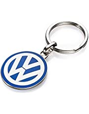Originele VW sleutelhanger VW-logo, ca. 30 mm geëmailleerd