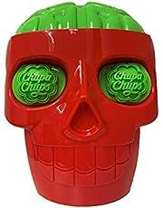 Chupa Chups 3D Big Skull Lollipop, 50 Count
