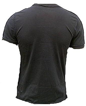 Amplified - Camiseta para hombre gris charcoal Antracita Official ...