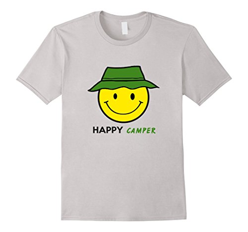 Camper T Shirt Smiley Outdoors Camping product image