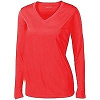 Joe's USA - Ladies Long Sleeve Moisture Wicking Athletic...