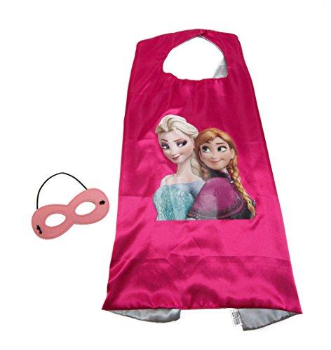 Costume Contest Rules (Frozen Elsa & Anna Princess Kids Cape and Mask Set)
