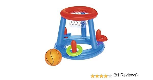 Canasta Hinchable Bestway Baloncesto Game Center Ø61 cm: Amazon.es ...