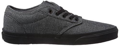 Varebiler Menns Atwood (tekstil) Black / Cordovan Skatesko 7,5 Mennene Oss