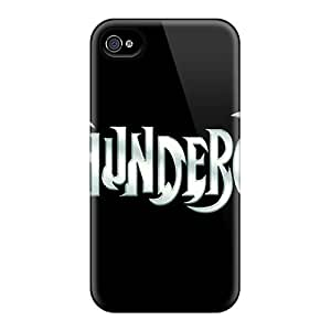 Scratch Protection Cell-phone Hard Covers For Iphone 6plus (wSl15783eufo) Support Personal Customs HD Thundercats Logo Pattern