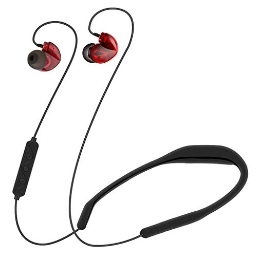 Wabaodan LX8 Hight-end Boutique Dynamic Iron Sports Bluetooth 4.2 Headset Voice Answering ()