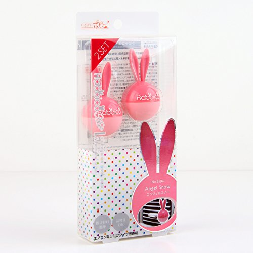 Diax Rabbico Clip on Air Freshener 2pcs (Angel Snow)