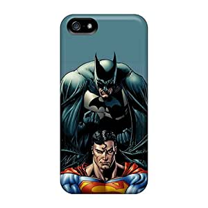 Premium RJkDY13040fOUuW Case With Scratch-resistant/ Batman And Superman Case Cover For Iphone 5/5s