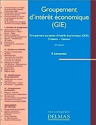 Groupement d'intérêt économique (GIE) : Groupement européen d'intérêt économique (GEIE), création, gestion