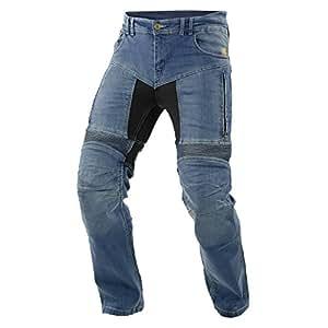 Trilobite 661 Parado -  Vaqueros de moto para hombres, Azul, 44 EULargo
