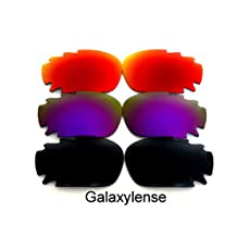 Galaxy Replacement Lenses For Oakley Jawbone 3 Pairs Polarized 100% UVAB