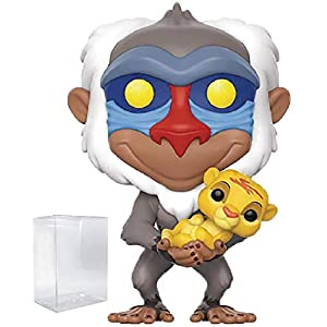 Disney: The Lion King – Rafiki with Simba Funko Pop! Vinyl Figure (Includes Compatible Pop Box Protector Case)