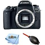 Canon EOS 24.2MP 77D Digital Camera Body #1892C001 [International Version] (Camera + Free Cloth)