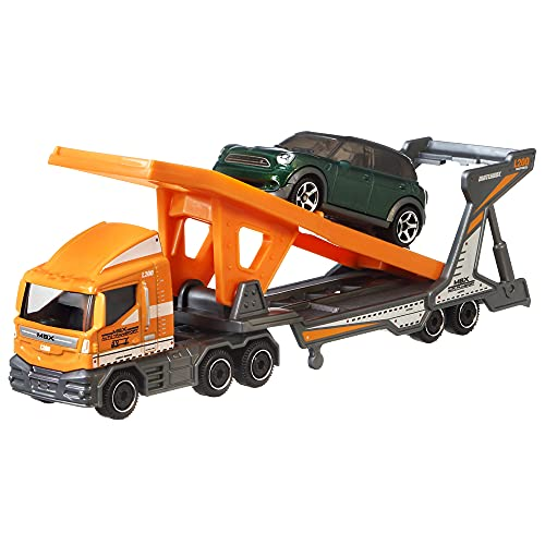 Matchbox convoys transport trailer and 2011 mini countryman