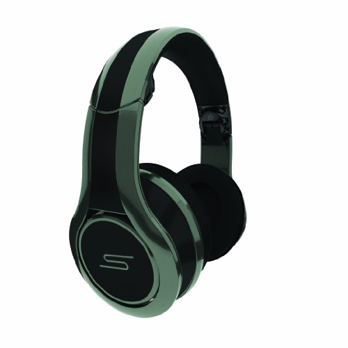 SMS Audio SMS-DJ-GRY Street by 50 Cent Wired DJ Headphones - Grey