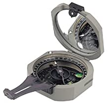 Brunton Pocket Transit Conventional Compass with 0-360 Degree Scale