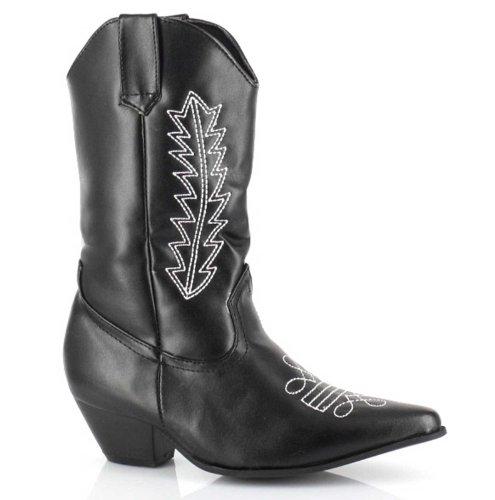 - Ellie Shoes Kids Black Cowboy Boots