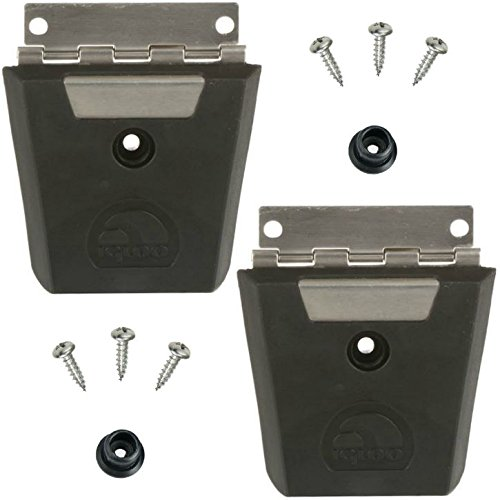 Igloo Pack of 2 Cooler Hybrid Stainless/Plastic Latch Post & Screws