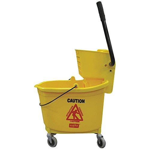Harper Bucket - Mop Bucket and Wringer, 35 qt., Yellow