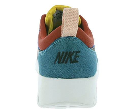 Nike Womens Wmns Air Max Thea Prm, Stella Blu / Nero-scuro Caienna Stella Blu / Nero-scuro Caienna