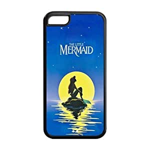 Cyber Monday Store Customize Beautiful Cartoon The Little Mermaid Back Case for ipod touch 5 ipod touch 5 JNipad ipod touch 5-1666