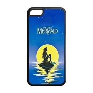XiFu*MeiCyber Monday Store Customize Beautiful Cartoon The Little Mermaid Back Case for iphone 4/4s JN5C-1666XiFu*Mei