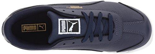PUMA Kids Roma Basic Perf Sneaker,Peacoat-Peacoat,7 M US Toddler
