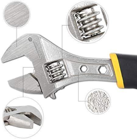 [スポンサー プロダクト]モンキーレンチ スパナ 小型 ワイドスパナレンチセット 32×255mm adjustable wrench 扳手 軽量 自転車 調整スパナ