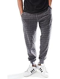 Young Men's Slim Fit Drawstring Waist Printed Jogger Pant