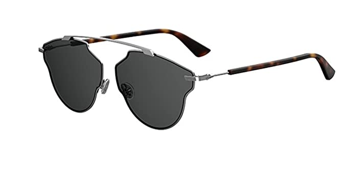 dc28909162ba Image Unavailable. Image not available for. Color  New Christian Dior So  Real Pop KJ1 IR Dark silver dark grey Sunglasses