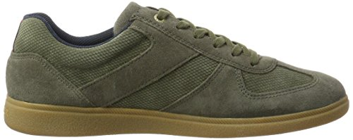 Tommy D2285anny Uomo 1b Verde Dusty Hilfiger Olive Sneaker r5wqrB