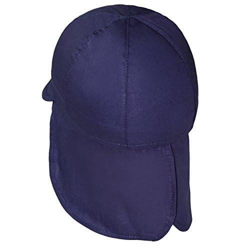 e4bf8e2d0 EveryHead Fiebig Sombrero De La Protección Del Cuello Gorros Con Cintas  Unión Cabrito Casquillo Verano Bebé