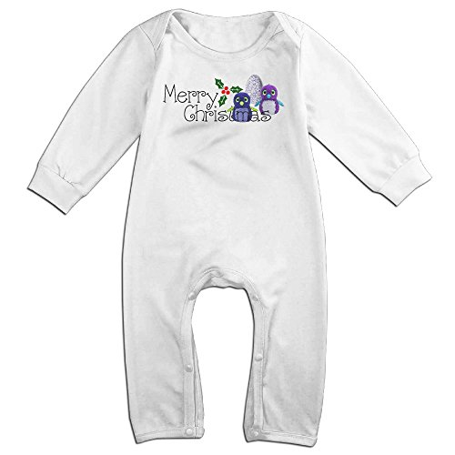 VanillaBubble Christmas And Hatchimals 1 For 6-24 Months Infant Funnies Baby Climbing Clothes White Size 12 (Shazam Costume Amazon)