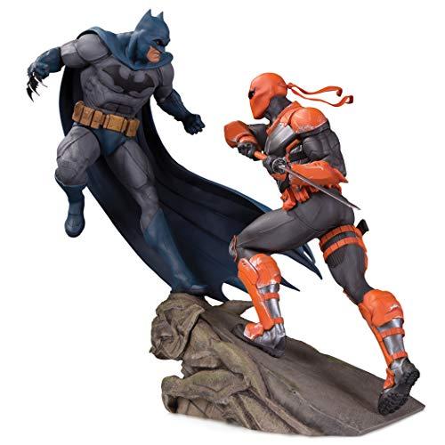 DC Collectibles Battle Statue: Batman Vs. Deathstroke, Multicolor