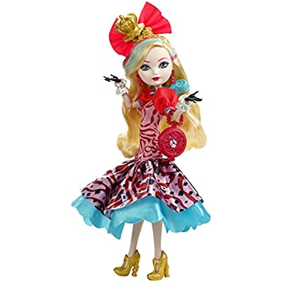 Ever After High Way Too Wonderland Apple White Doll: Toys & Games