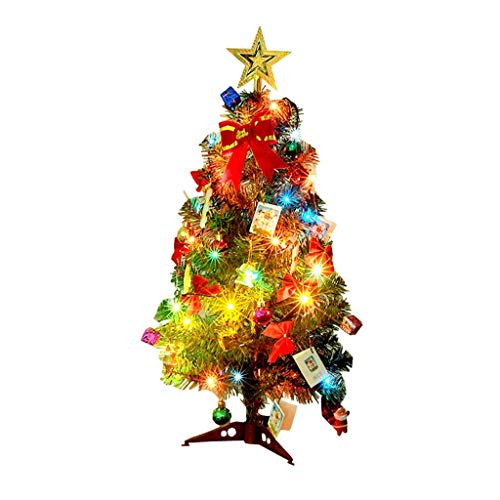 Chenway Merry Christmas Mini Table Top Christmas Tree Decoration LED Decor Home Xmas Gift Party Christmas Tree Accessories (30CM)