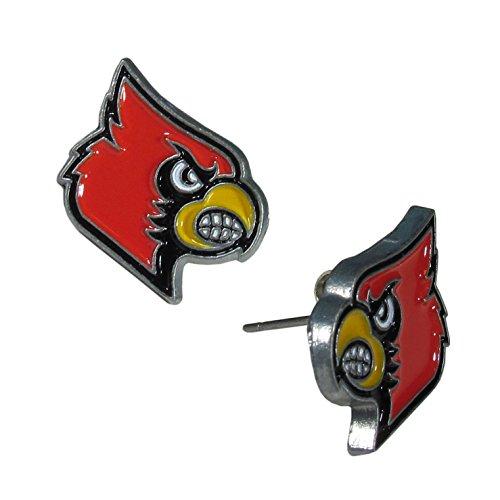 NCAA Louisville Cardinals Stud Earrings