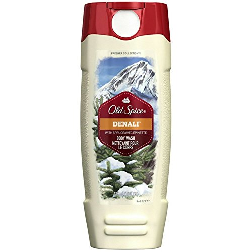 (Old Spice Fresher Collection Men's Body Wash, Denali, 16 Ounce (Pack of 2))