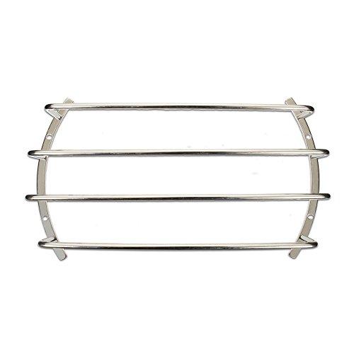 "Goldwood 12"" Woofer Protection Grille Chrome Steel Speaker Bar Grill Silver (BAR-12)"