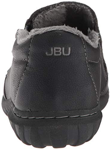 Flat Jambu Oxford Crimson Women's JBU Black by ZT4qang